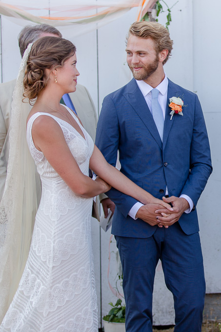 candid ceremony moment - San Francisco wedding photographer