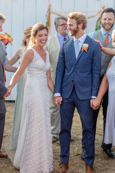precious candid ceremony moment - San Francisco wedding photographer